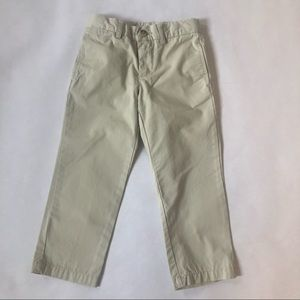 Ralph Lauren 3T Boys  Cream Chino Casual Pants